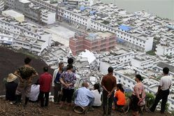 Landslide in Sichuan, China during worst flood season in over a decade