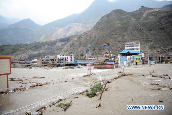 Floods and landslides continue in China