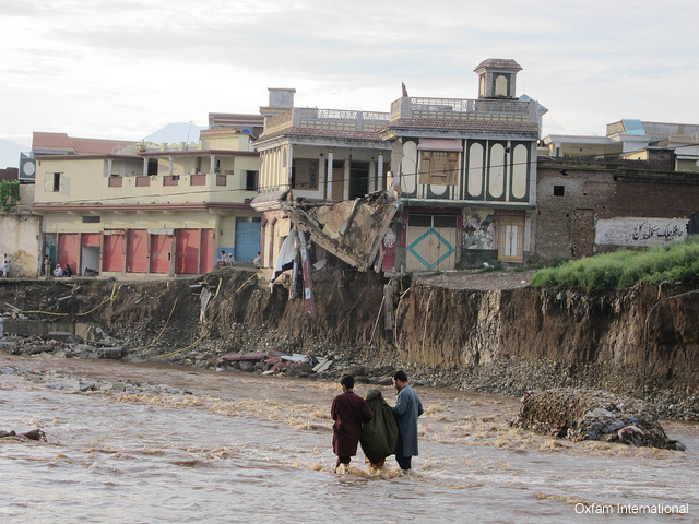 Flood alleviation efforts in Pakistan