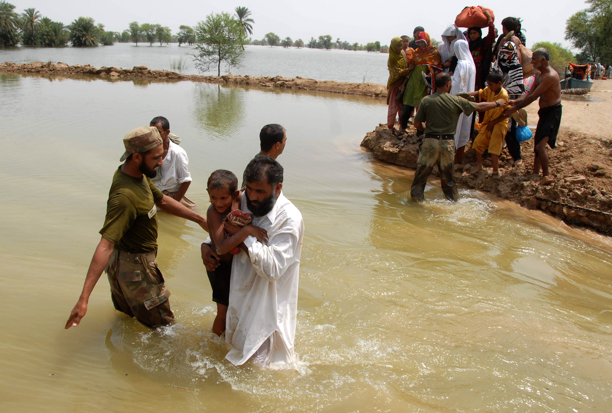 Pakistan disaster relief aid -- does the money get there?