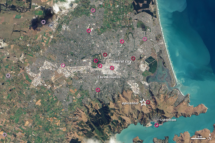 New maps of Christchurch earthquake
