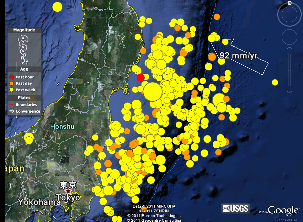 Sendai earthquake and tsunami disaster