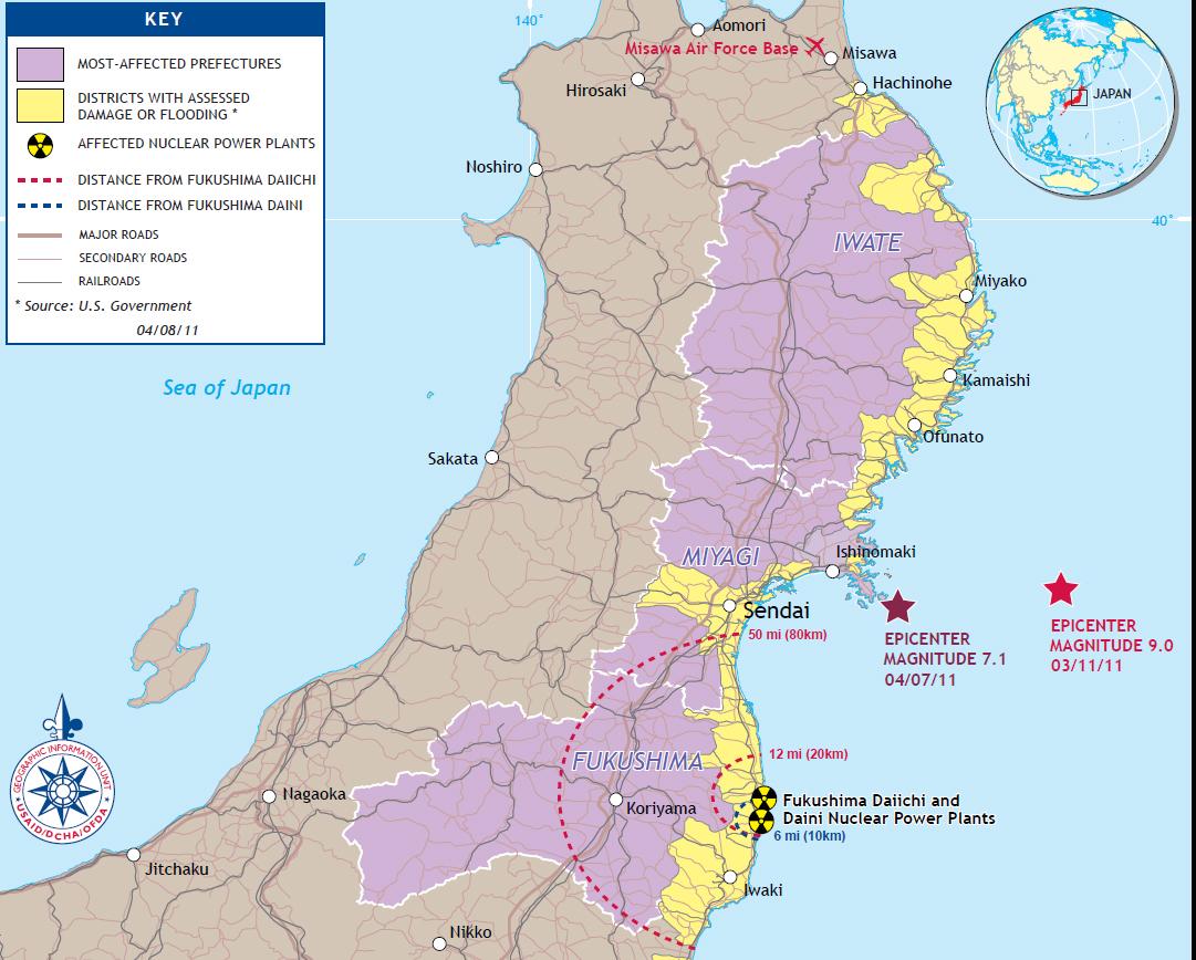 Japan ReportFINAL For Webindd - Japan 2011 map
