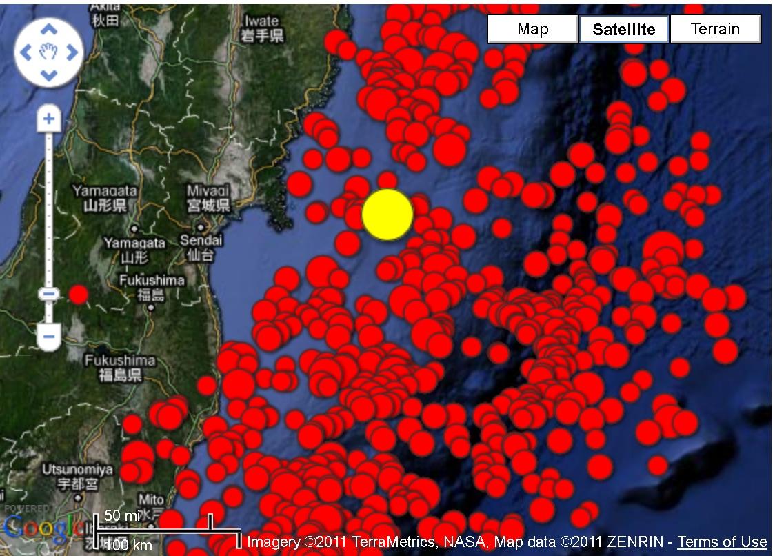 Japan still shaken by aftershocks : Institute of Hazard ...