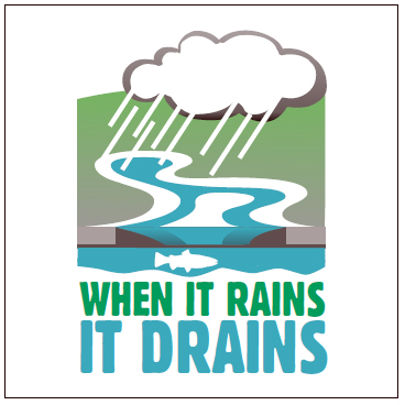 when it rains it drains
